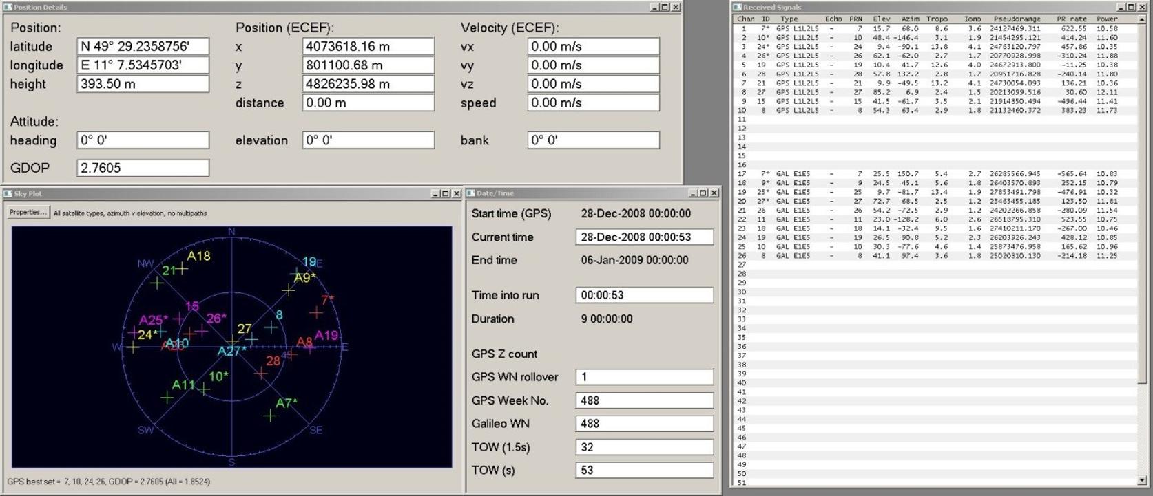 GNSS Software Defined Receiver Metadata Standard